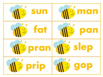 Buzzing Bees Math & Literacy