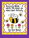 Buzzing Blends - A Spring Themed Write the Room or Word Sort Activity