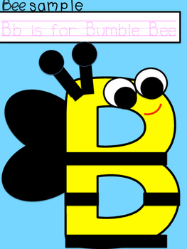 Buzzing Bumble Bee Craft