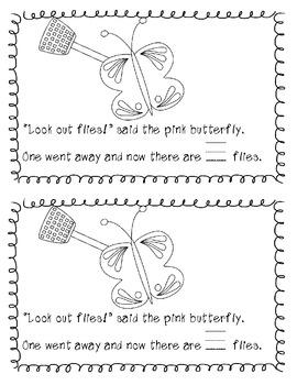 Buzzing Flies - Little Readers (4 versions)