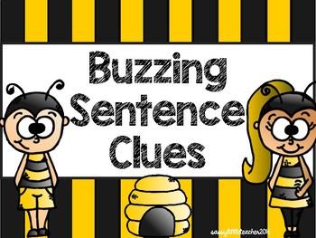 Buzzing Sentence Clues