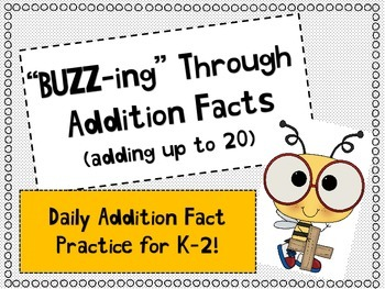 Buzzing Through Addition Facts