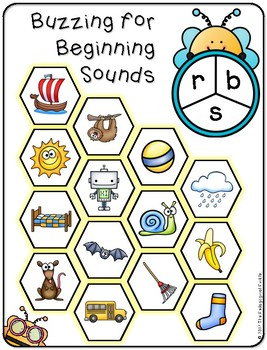 Buzzing for Beginning Sounds