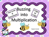 Multiplying 2 Digit Numbers by 2 Digit Numbers---Bee Theme
