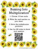 Buzzing into Multiplication - Math Center with QR codes