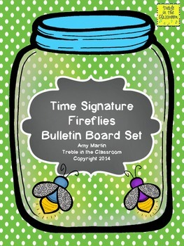 Buzzing the Beat: Time Signature Identification Bulletin Board Set