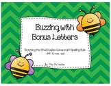 Buzzing with Bonus Letters (Teaching Final Double Consonants - ff, ll, ss, zz)