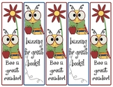 Buzzy Bee Book Marks