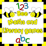 Buzzy Bee Math and Literacy centers