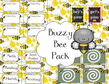 Buzzy Bee Pack