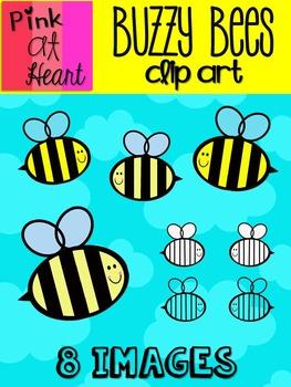 Buzzy Bees Clip Art