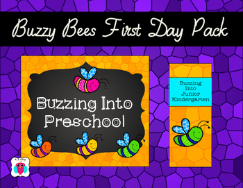 Buzzy Bees First Day Pack