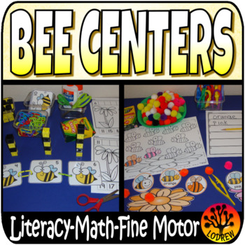 Bee Centers Activities Bees Honey Math Literacy Kindergart