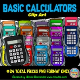 Calculator Clip Art for Personal and Commercial Use