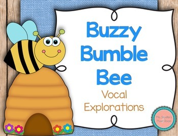 Buzzy Bumble Bee Vocal Exploration