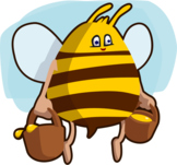 Buzzy Buzzy Bumble Bee Poem - Fun Poetry about our Honey-M