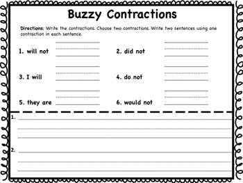 Buzzy Contractions