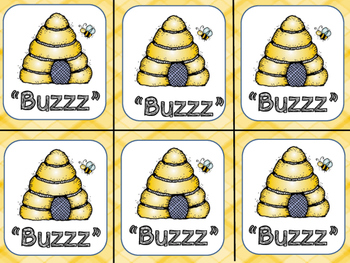 Dolch Word Games 'Buzzz'