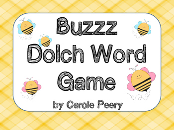 Buzzz Dolch Pre-K Word Games