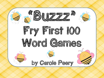 Buzzz Fry First 100 Word Games