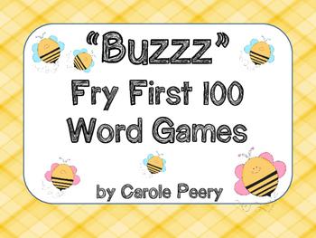 Buzzz Fry First 100 Word Games