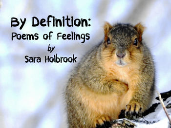 By Definition: Poems of Feelings - A Heads Up book by Sara Holbrook