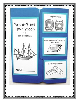 By The Great Horn Spoon Lapbook and Book Report