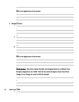 By The People j- James Fraser - Chapter 1 Outline Template
