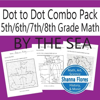By The Sea Combo Pack: Mermaid, Sandcastle, & Island Dot t