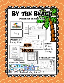 By the Beach Week Themed Preschool Day Care Unit - Revised May 2016