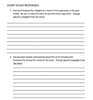 By the Great Horn Spoon Comprehensive Common Core Novel Study