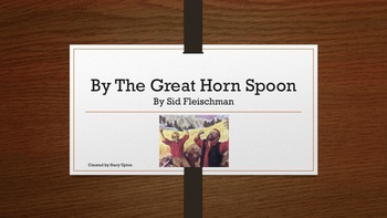 By the Great Horn Spoon Depth and Complexity Icon Prompts