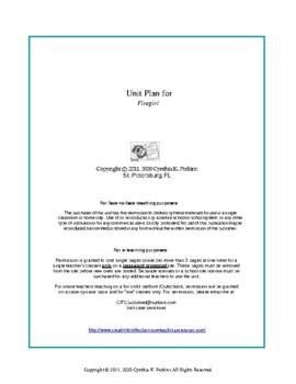 Firegirl Complete Literature and Grammar Unit