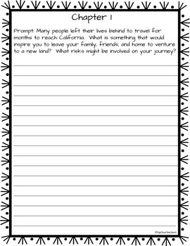 By the Great Horn Spoon Quick Write Prompts and Journal