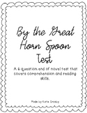 By the Great Horn Spoon end of novel test