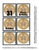 By the Sea Calendar Pieces Memory Sets - Sand Dollar, Crab & Turtle