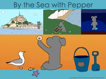 By the Sea with Pepper in English