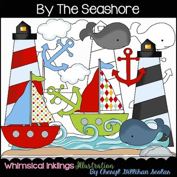 By the Seashore Clipart Collection