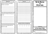 By the Shores of Silver Lake Comprehension Foldable