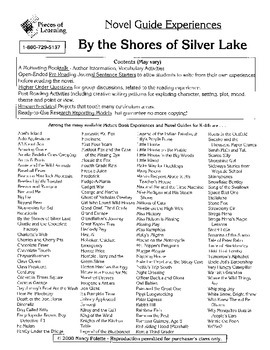 By the Shores of Silver Lake Literature Activity Guide