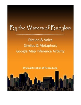 """""""By the Waters of Babylon"""" Close Reading Pack"""