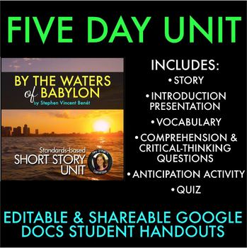 By the Waters of Babylon Short Story Unit