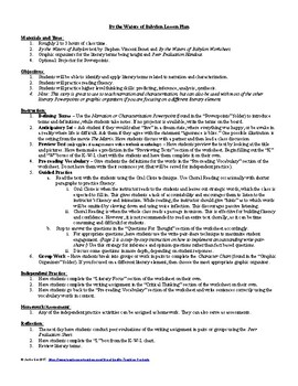 Lesson: By the Waters of Babylon Lesson Plan, Worksheet, Key, PPT