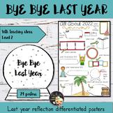 New Year Writing Activity Level 2- Bye Bye 2018