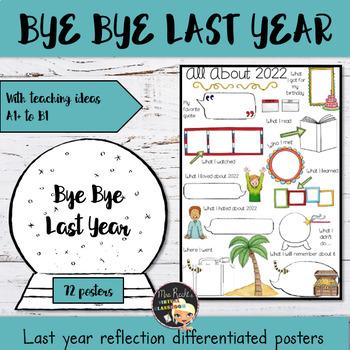Bye Bye 2017 - Posters (3 Levels Bundle)