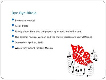 Bye Bye Birdie!