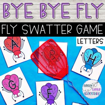 Fly Swatter Letter Game Teaching Resources | Teachers Pay Teachers