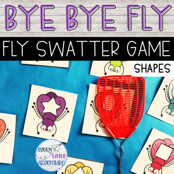 Bye Bye Fly - SHAPES Game for Pre-K