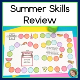 Summer Review Packet Bye Bye Summer Slide