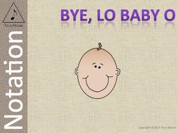 Bye, Lo Baby, O – Notation Pack